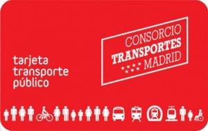 Tarjeta Transporte Público.