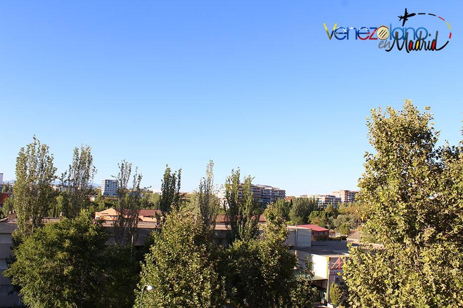 El clima de Madrid: Verano.