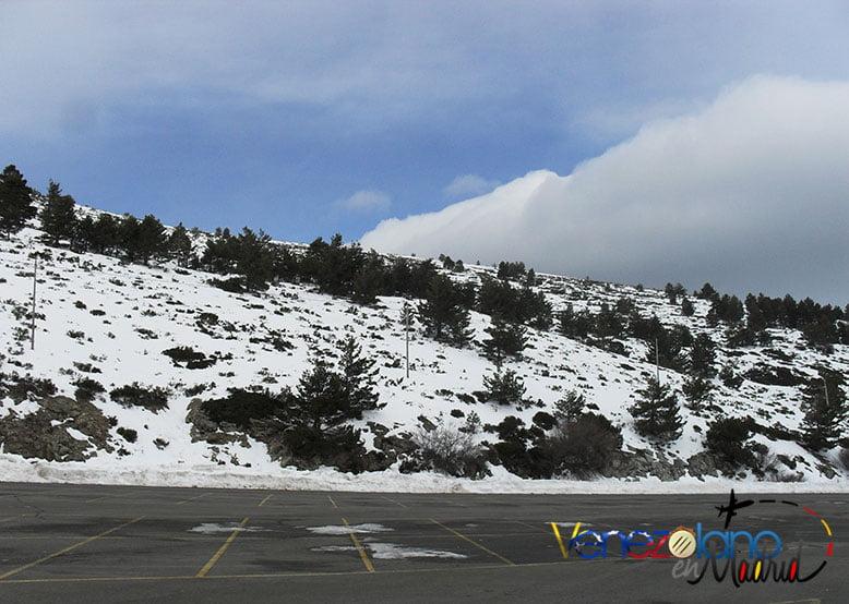 El clima de Madrid: Invierno.