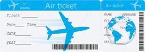 Billete de Avión, importante antes de emigrar.