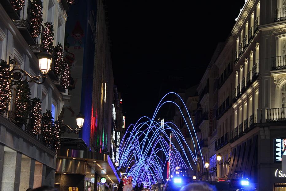 Navidad en Madrid: Calle El Carmen.