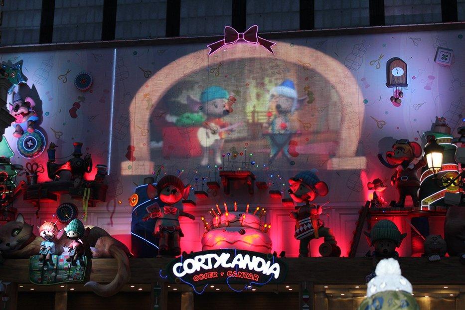 Navidad en Madrid: Cortylandia.
