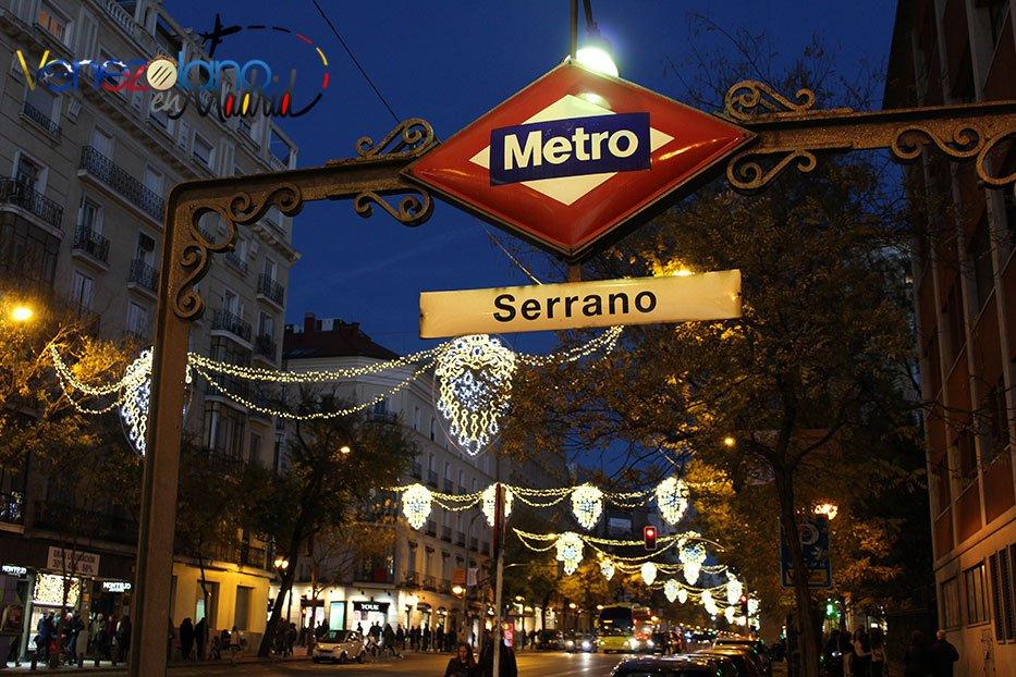 Navidad en Madrid: calle Goya