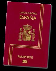 Pasaporte Español, documento imprescindible para mudarse a España.