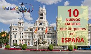 10 nuevas costumbres que adquieres en España