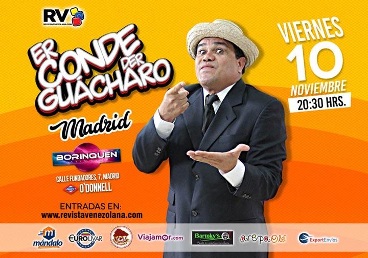 Er Conde del Guácharo en Madrid 2017
