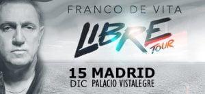 Franco De Vita Madrid Diciembre 2017