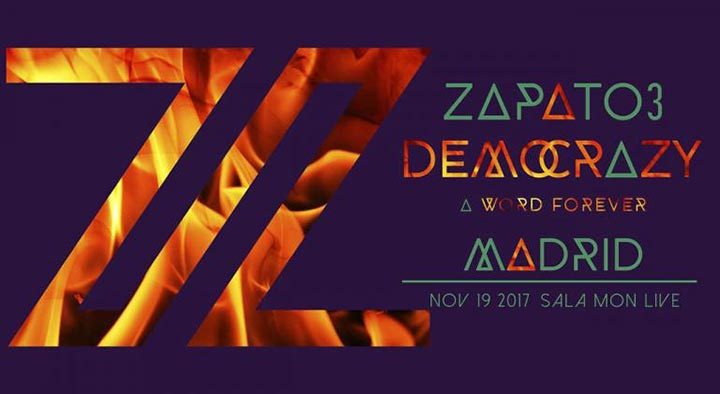 Zapato 3 Democrazy Madrid 2017