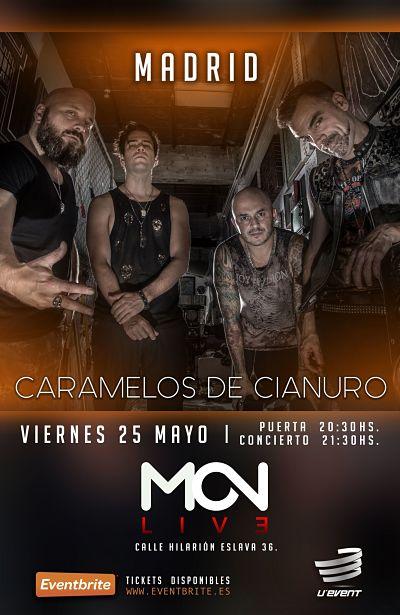 Caramelos de Cianuro, Tour Retrovisor 2018, Madrid