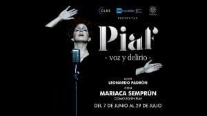 Piaf, voz y delirio, 2018,Madrid