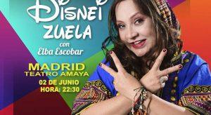 Disneizuela Elba Escobar Madrid 2018